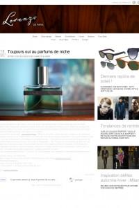 Toujours oui au parfums de niche | Lorenzo de Paris